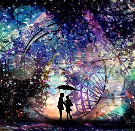 beautiful anime beautiful anime gambar siluet