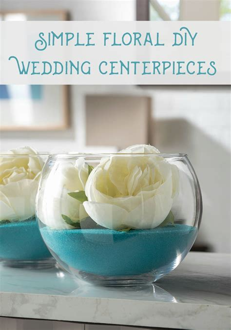 DIY Wedding Centerpieces That Assemble in Minutes