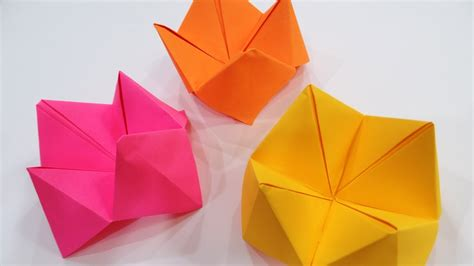 Fortune Teller Origami - how to make a paper fortune teller paper origami