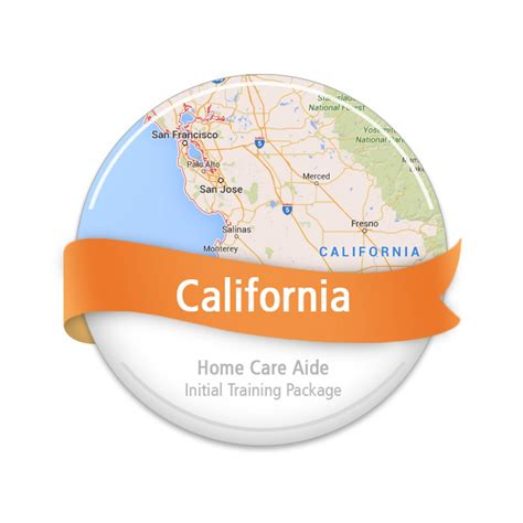 california home care aide initial package