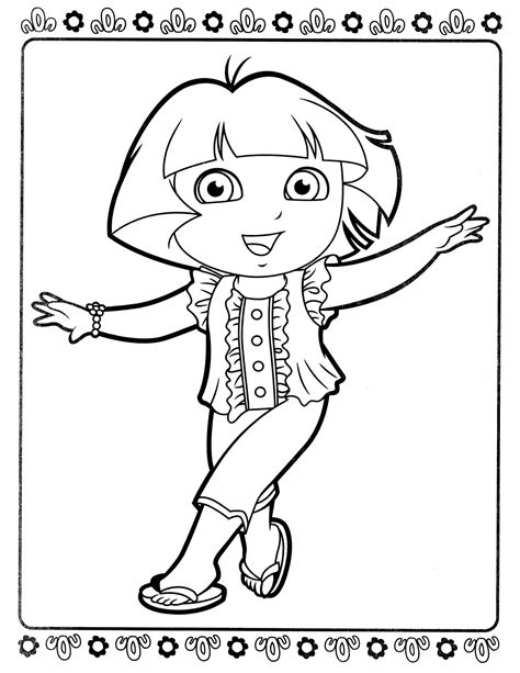dora ballerina coloring pages coloring pages dora and friends into the city coloring pages