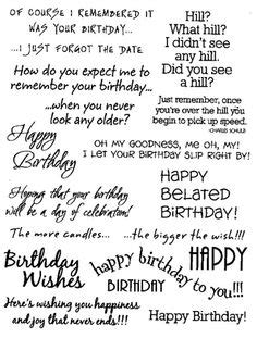 Birthday Card Sentiments 1000 Ideas About Birthday Sentiments On Pinterest