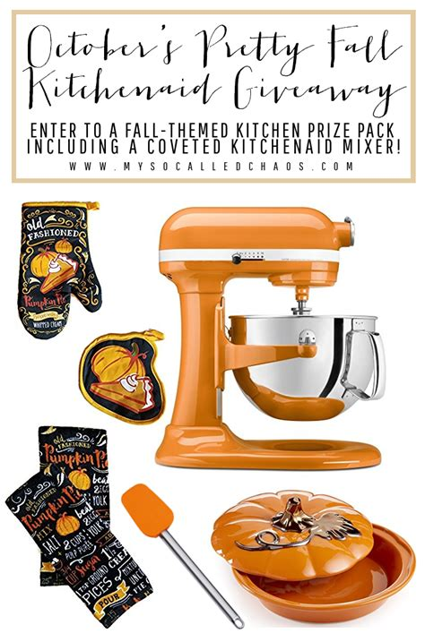 Kitchenaid Mixer Giveaway - kitchenaid mixer giveaway for fall holiday recipes urbanblisslife com