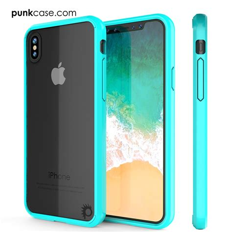 iphone x punkcase lucid 2 0 series slim fit armor cover w in