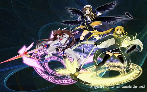 wallpaper anime magic nanoha wallpaper 687711