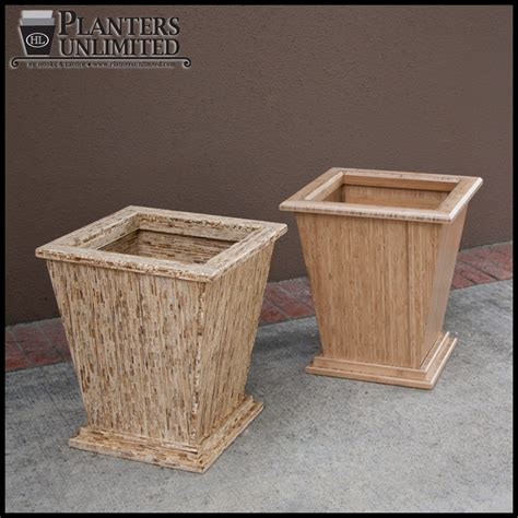 Large Wood Planter Box by Large Wooden Planters Commercial Large Wood Planter Boxes