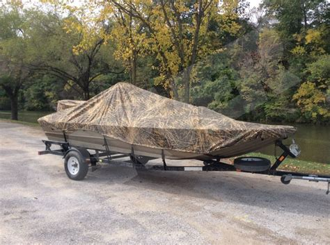 carver boat covers carver camouflage boat cover mossy oak shadow grass