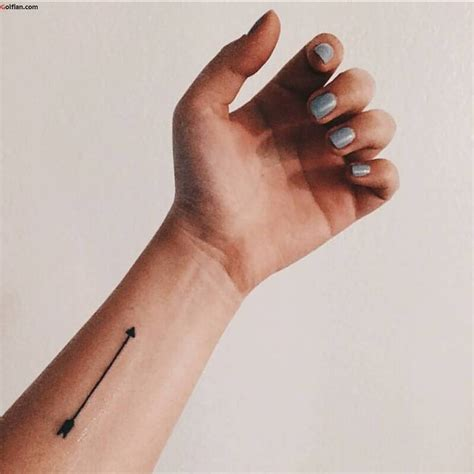 easy wrist tattoos 57 stylish arrow wrist tattoos