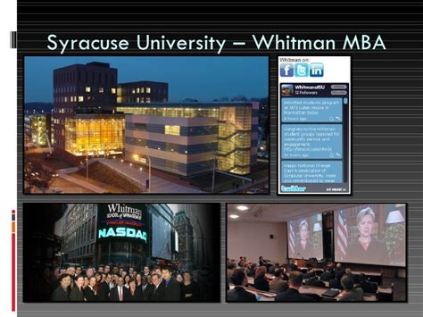Whitman Syracuse Mba by Managing Innovation South Korean Perspective