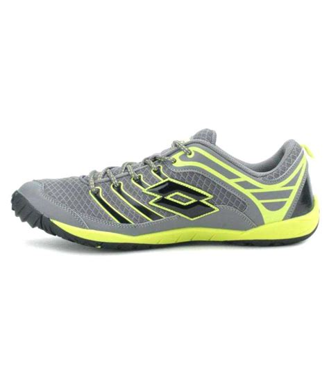 lotto lifestyle gray casual shoes available at snapdeal
