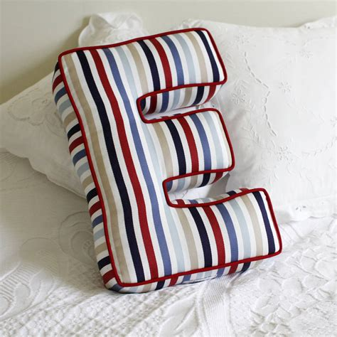 Letter Shaped Pillows by Letter Cushion By Jonny S Notonthehighstreet