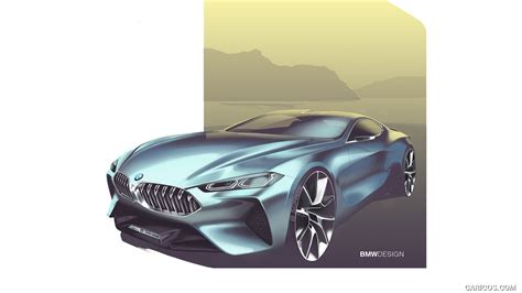 8 Series Sketches by Nov 233 Bmw 8 Si Zamilujete Mrkněte Na Futuristick 253 Interi 233 R