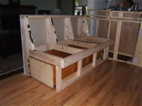 how to build a kitchen nook bench seat pinterest the world s catalog of ideas