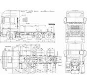 Daf XF 95 2005 Blueprint  Download Free For 3D
