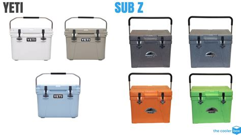 yeti coolers colors sub z cooler vs yeti which cooler should you buy