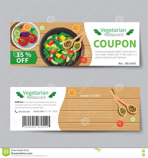 meal coupon template beautiful template design ideas