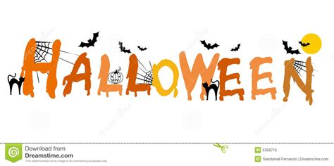 imagenes de halloween letras halloween foto de stock royalty free imagem 5358715
