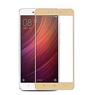 Tempered Glass Colour redmi note 4 gold colour tempered glass screen protector
