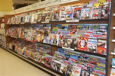 magazine and book racks spacewall west