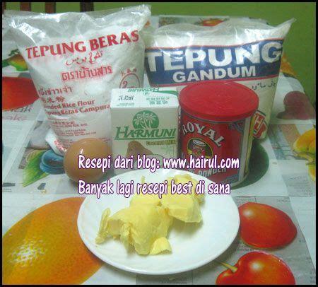 Tepung Beras Coklat 1 resepi tepung pisang goreng rangup dan sedap 2 cawan