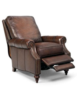 macys recliner chairs kennedy leather recliner furniture macy s