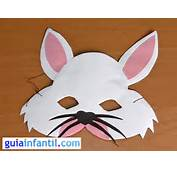 Antifaz De Conejo Manualidades Carnaval