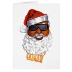 hip hop santa greeting card zazzle