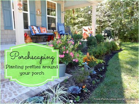 Landscape Ideas Around Front Porch Pics For Gt Landscaping Ideas Around Front Porch