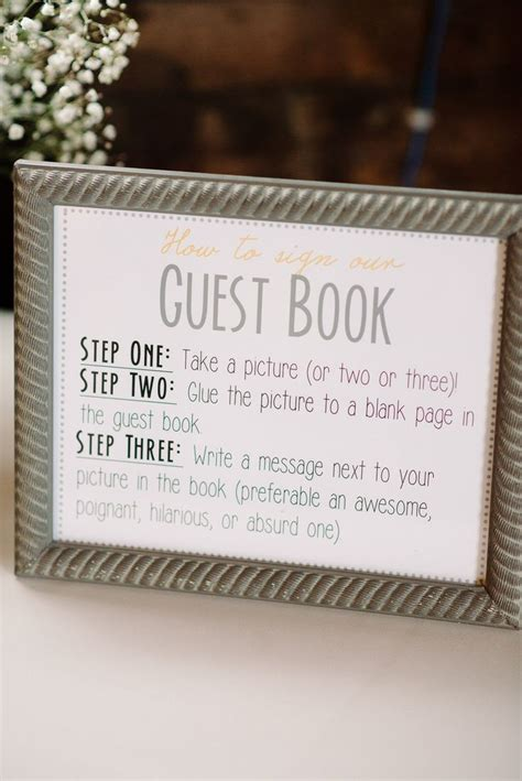 guest book pictures diy new jersey wedding at the raritan inn from