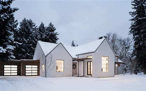 Home White 25 White Exterior Ideas For A Bright Modern Home
