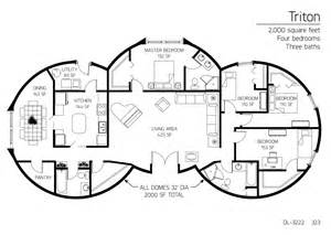 Monolithic Dome Homes Floor Plans Floor Plan Dl 3222 Monolithic Dome Institute