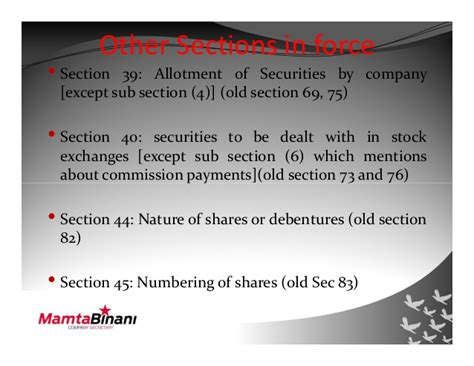 section 12 of companies act section 45 companies act 28 images companies act india