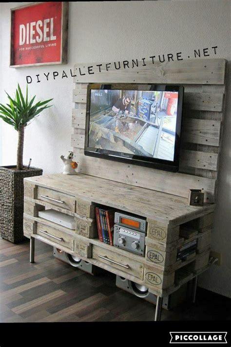 Meuble Tv En Palette Europe by Meuble Tv Palette Europe
