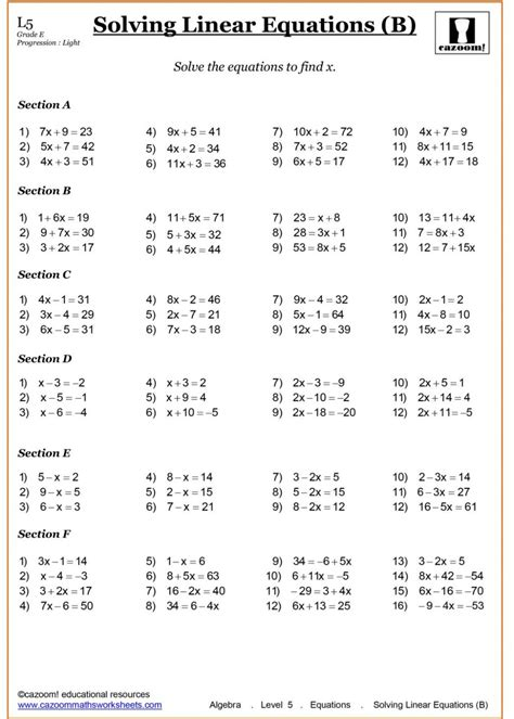 algebra year 7 worksheets grade printable addition worksheets 5th maths worksheet 6