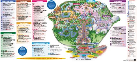 disney world magic kingdom map disney and the managing and potty issues at walt disney world
