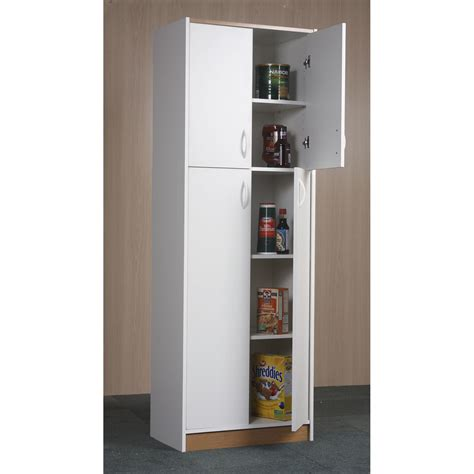 tall white pantry cabinet pantry cabinet kitchen cabinet pantry unit with food