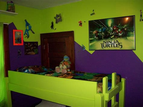 ninja themed bedroom tmnt bedroom decoration ideas