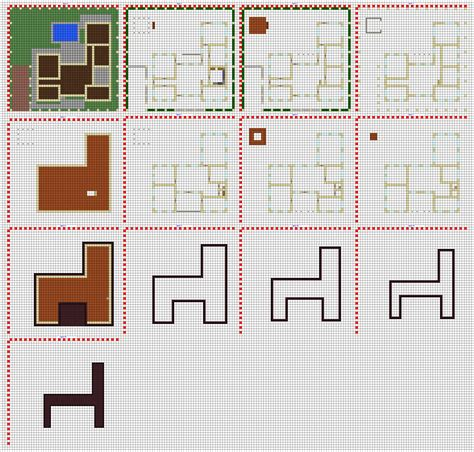 minecraft floor plan maker the gallery for gt minecraft castle blueprints layer by layer