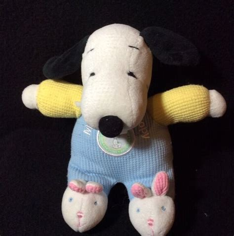 snoopy slippers plush peanuts snoopy my plush thermal soft rattle