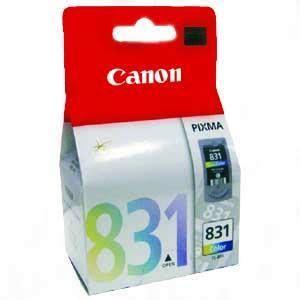 Murah Cartridge Canon 831 Colour Original canon 8 cyan ink cartridge