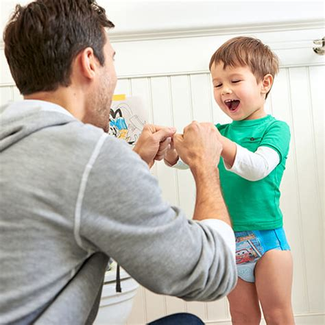 little boys in pull up diapers potty training tips advice support pull ups 174