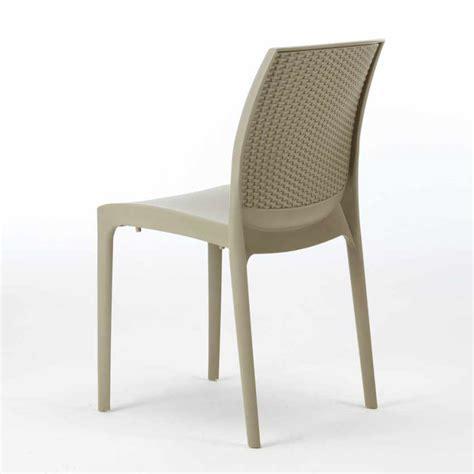 tavoli e sedie rattan offerte offerta 20 sedie in polyrattan da giardino esterno bar