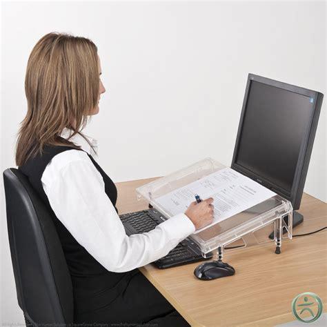 Document Holder For Desk by Shop Use Regular Microdesk Document Holder Md Ss