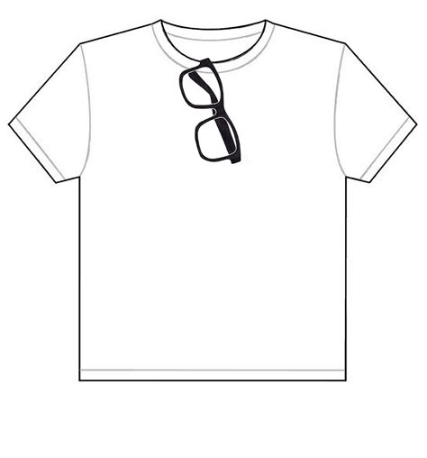 Drawing T Shirt Designs by T Shirt Drawing Template Clipart Best