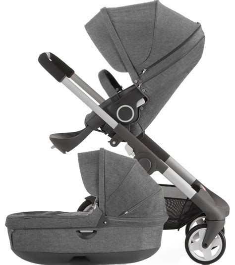 stokke baby wagen stokke crusi carriage black melange