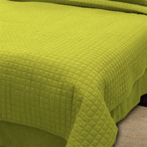 green quilted coverlet wholesale queen coverlets easy care microfiber