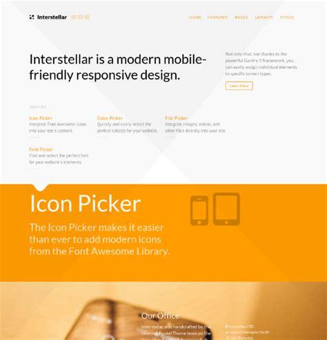 theme wordpress interstellar rockettheme interstellar download corporate wordpress theme