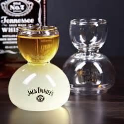 Jack daniels whiskey on water glasses set of 2 engravable
