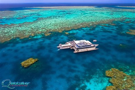 great barrier reef pontoon great barrier reef tour quicksilver cruises