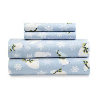 fleece bed sheet set sleep softly with sears